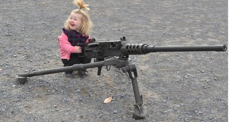 As crianças e as armas