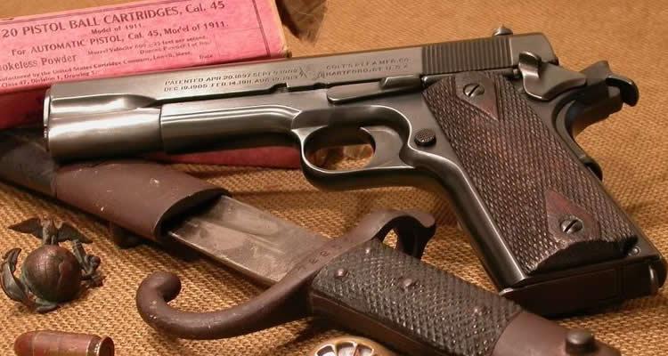 Colt 1911 – Parte II