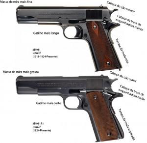 M1911vsM1911A1