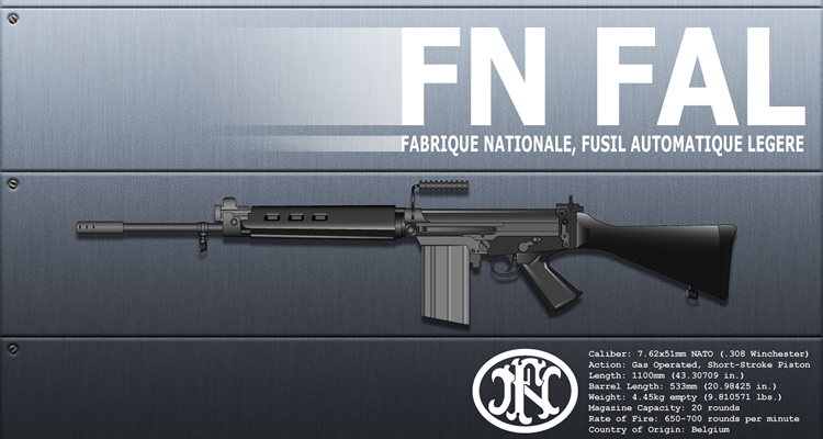FN FAL – Fusil Automatique Legere