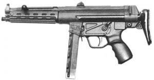 Protótipo da H&K 54, em 1966 passou a se chamar H&K MP5.