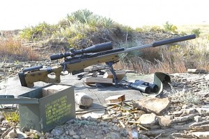 Rifle Crane Built Mark 13 Mod em .300 Winchester Magnum