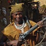 Caçador do povo de Dogon, em Mali.