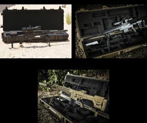 Rifles de precisão Caracal modelo: CSR 338, CSR 308 e CAR 817DMR.